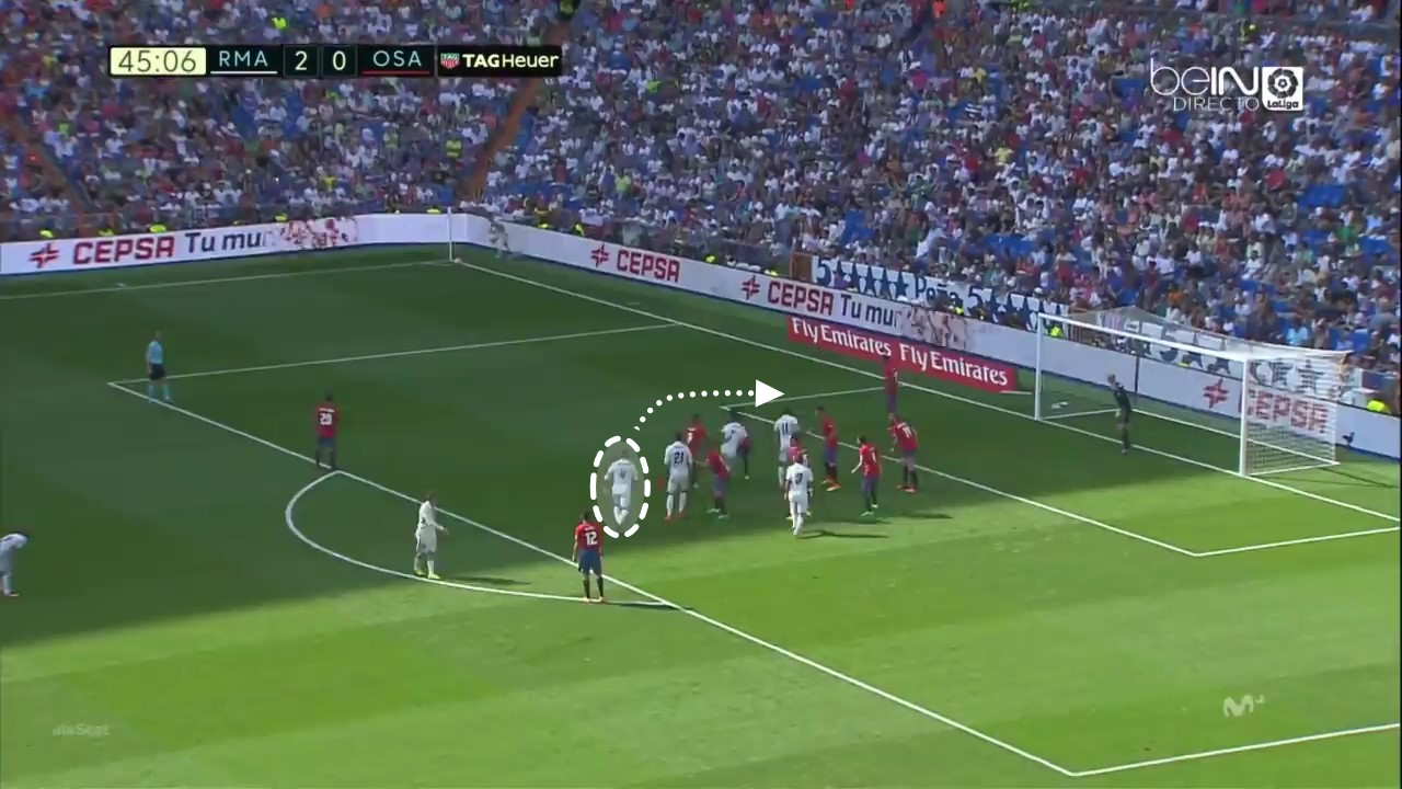 Sergio Ramos gol Real Madrid Osasuna